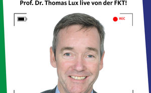 Prof. Dr. Thomas Lux bei der FKT zu digitalen Innovationen