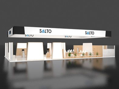 Salto Systems Messestand